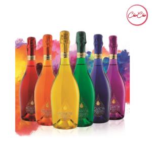 Bottega Accademia Rainbow Prosecco Doc Brut (Assorted Colors)